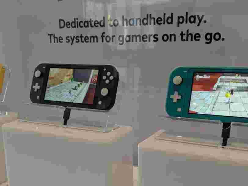 Nos premières impressions sur la Nintendo Switch Lite avant sa sortie le 20 septembre