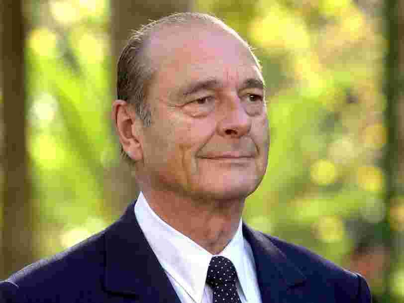 Jacques Chirac est mort à l'âge de 86 ans