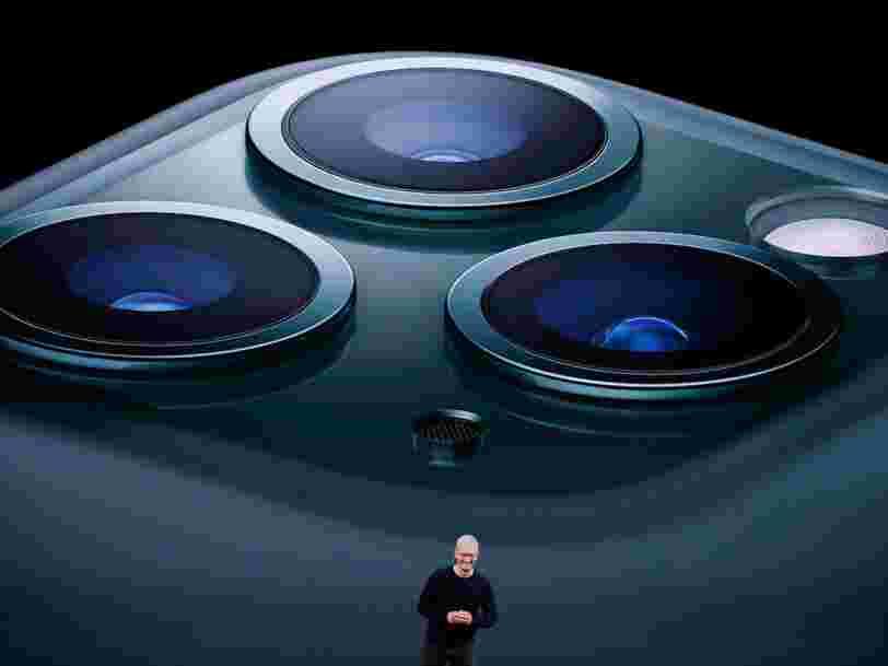 L'iPhone 11 mise tout sur la photo... et les 6 autres choses à savoir dans la tech ce matin