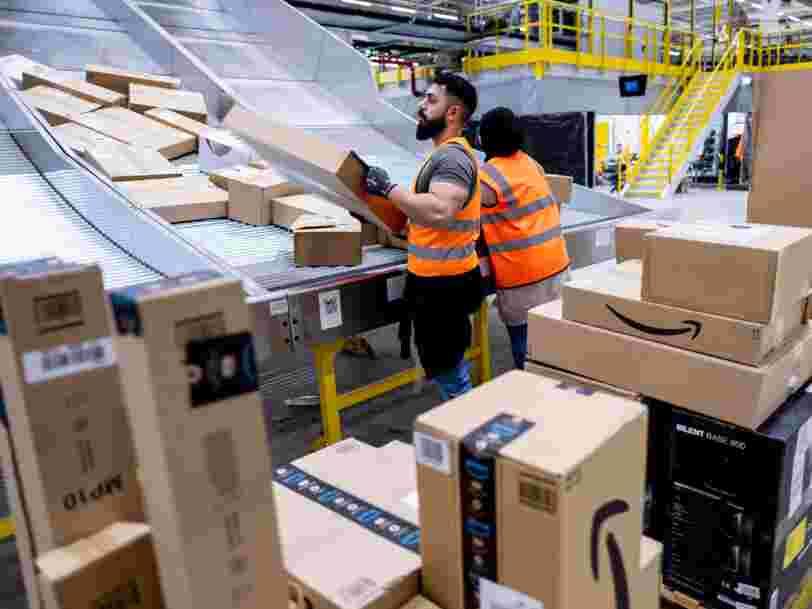 300 employés d'Amazon protestent contre leur entreprise qui ne les laisse pas parler librement de l'environnement