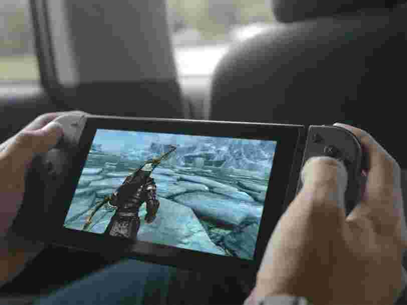 Le nouvelle console de Nintendo est mobile, mais elle n'est pas censée rivaliser avec votre iPhone