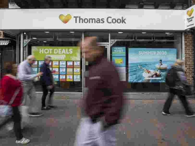 La reprise de Thomas Cook en France ne permet de sauver que la moitié des postes