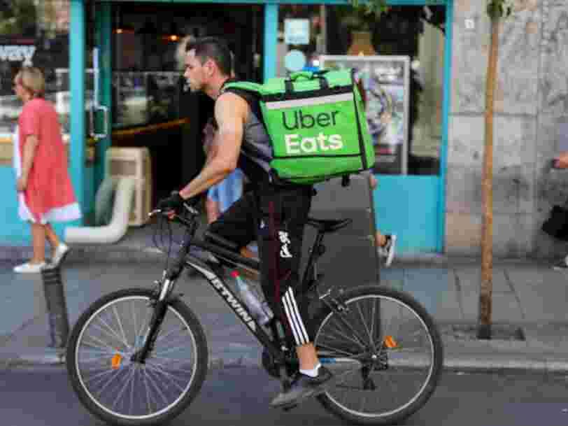 Uber Eats s'avoue vaincu en Inde et cède ses activités à un rival