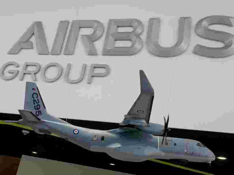 Airbus annonce la suppression de 2 000 postes, dont 400 en France, dans sa branche défense et espace