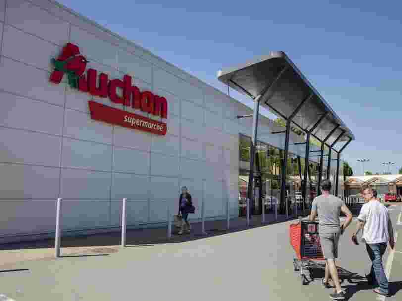 Auchan va supprimer 517 emplois dans le cadre d'un plan de départs volontaires