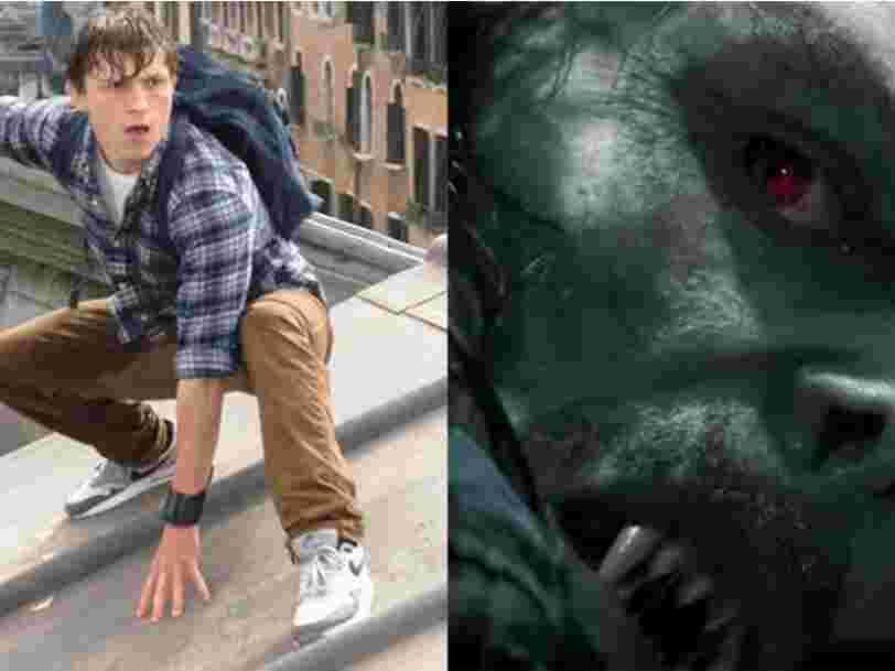Le premier trailer de 'Morbius' pourrait donner un indice sur l'existence de plusieurs Spider-Man dans des univers parallèles