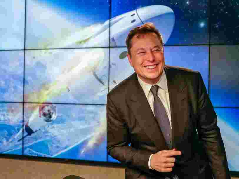 Après son test réussi, Elon Musk espère envoyer des astronautes de la NASA dans l'espace au deuxième trimestre 2020