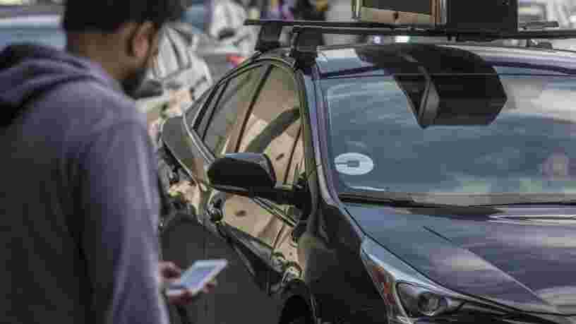 Uber permet désormais aux Américains de signaler 'discrètement' la conduite dangereuse d'un chauffeur