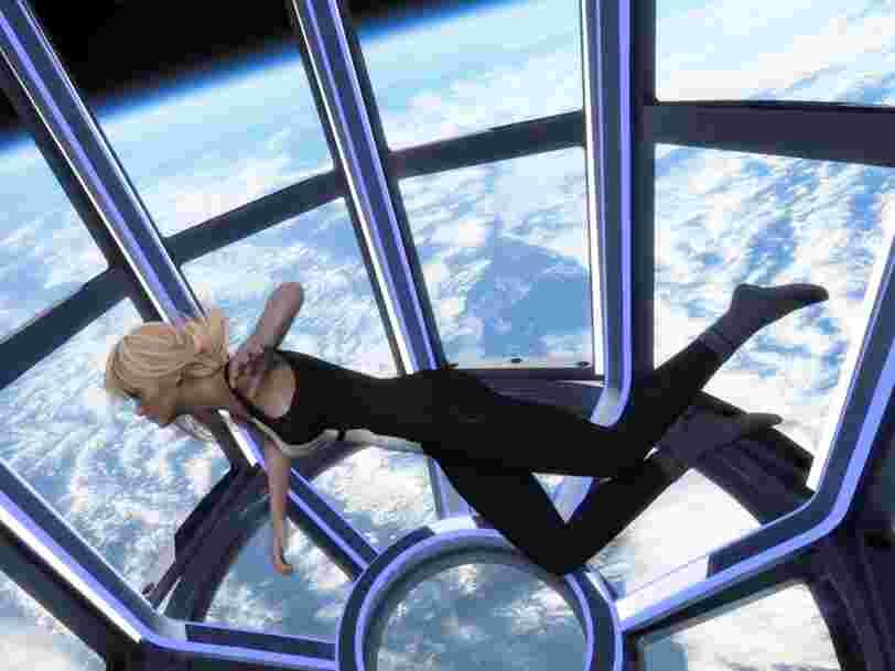 Découvrez la station spatiale conçue par Philippe Starck pour accueillir des touristes à partir de 2024