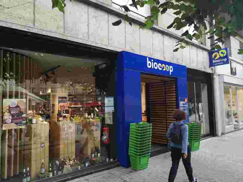 Biocoop lance un site pour que vous puissiez faire vos courses en ligne et les retirer en magasin