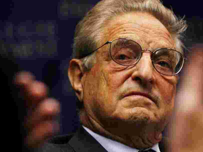 George Soros qualifie Facebook et Google de 'menaces' pour la société et 'obstacles à l'innovation' dans une diatribe acerbe