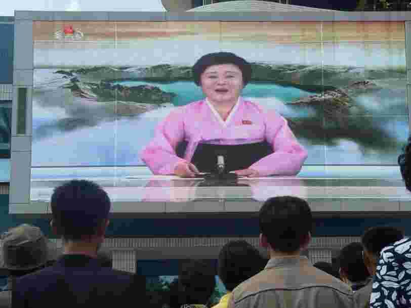 La plus célèbre présentatrice de Corée du Nord est une grand-mère de 74 ans qui pourrait présenter les infos sur une chaîne câblée des États-Unis selon Trump