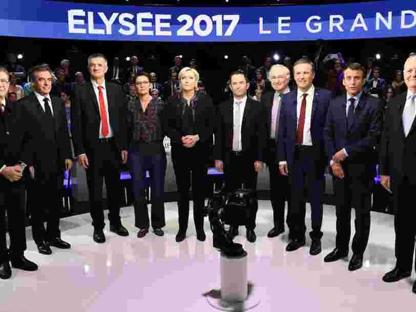 Les déclarations les plus marquantes du 2e débat de l'élection présidentielle française 2017