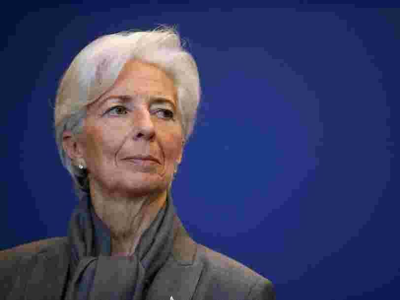 Deutsche Bank fait peser un risque sur tout le système selon Christine Lagarde