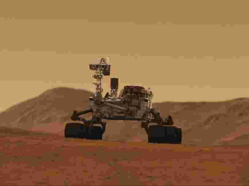 L'hypothèse de la vie sur Mars renforcée par la détection d'un pic de méthane