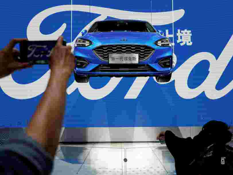 Ford crée une division dédiée aux véhicules autonomes dans laquelle le constructeur automobile va investir 4 Mds$