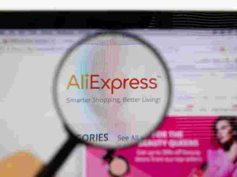 Vous allez pouvoir acheter français sur AliExpress