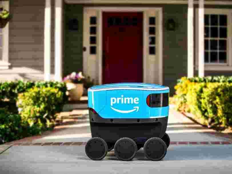 Amazon a révélé son nouveau robot-livreur autonome appelé 'Scout'