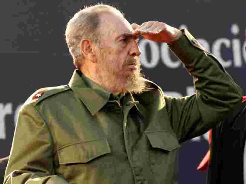 L'ex-leader de Cuba Fidel Castro est mort à 90 ans