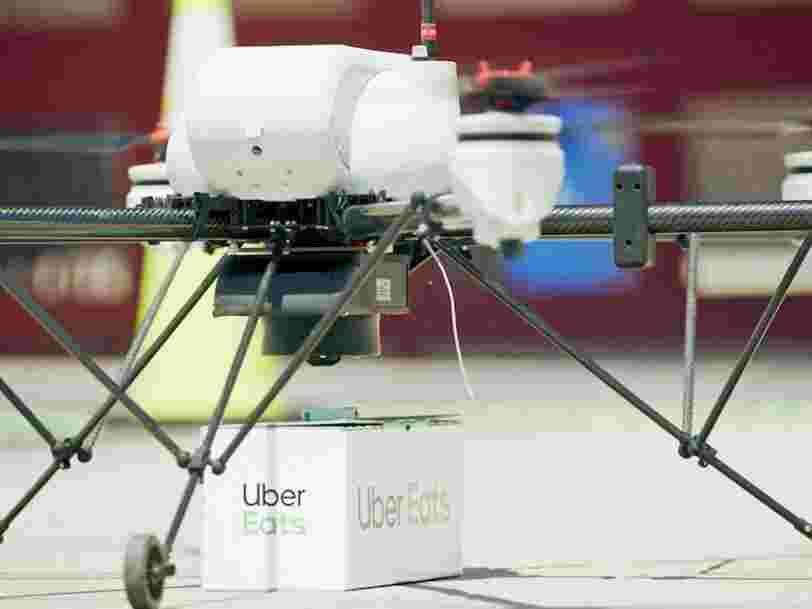 Uber Eats va tester les livraisons par drone aux États-Unis