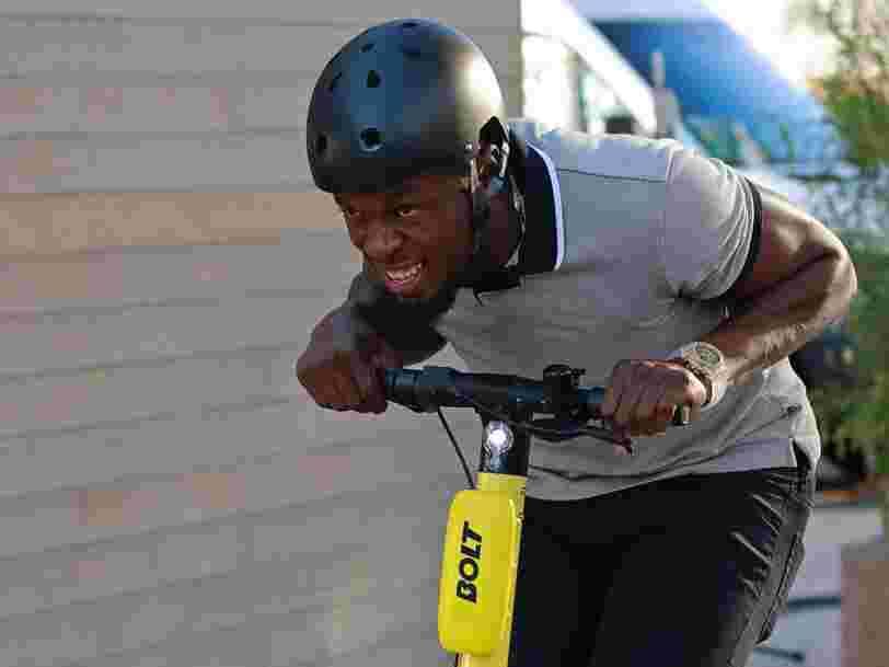 L'app Bolt empêche Usain Bolt d'utiliser son nom pour ses trottinettes électriques
