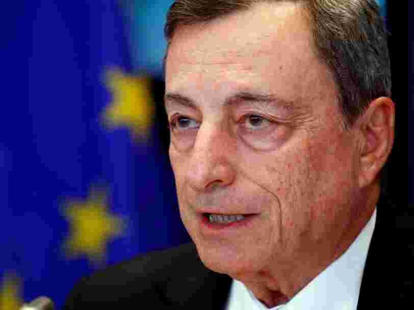 La BCE laisse sa politique monétaire inchangée pour la zone euro en dépit de perspectives économiques plus sombres