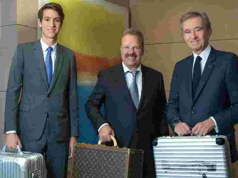 LVMH investit 640 millions d'euros dans les bagages innovants