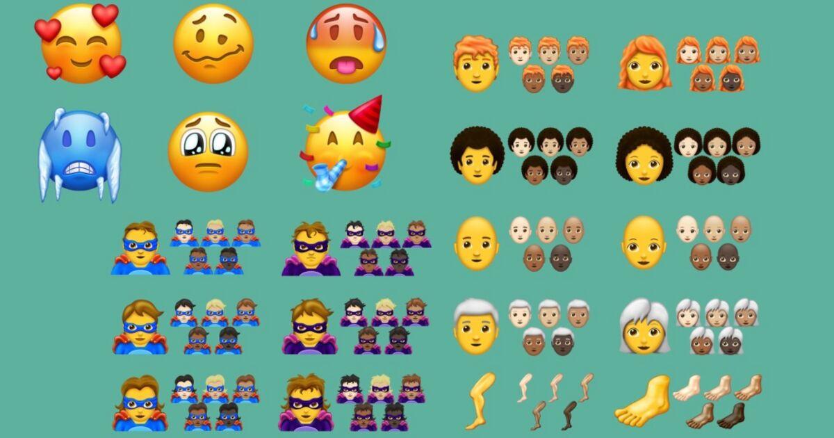 On Connait Les 157 Nouveaux Emoji De 2018 Voici Les Meilleurs D Entre Eux