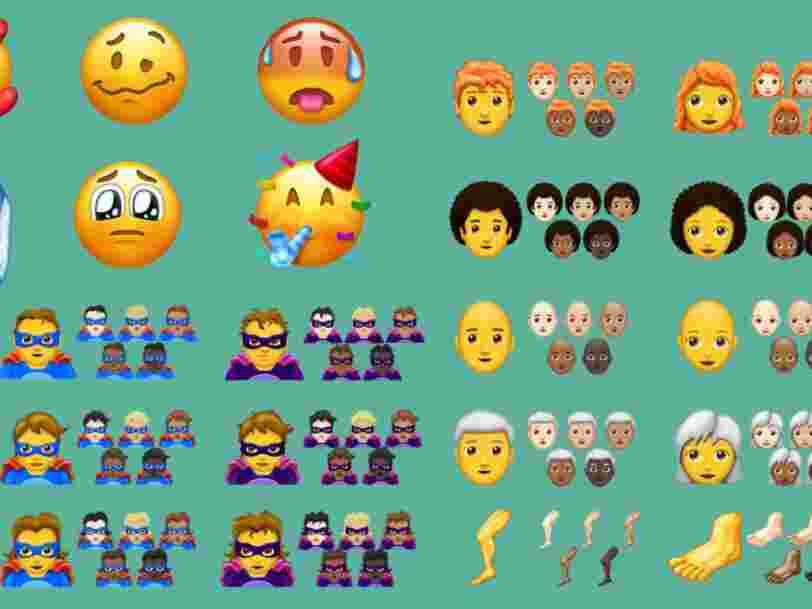 On connaît les 157 nouveaux emoji de 2018 — voici les meilleurs d'entre eux