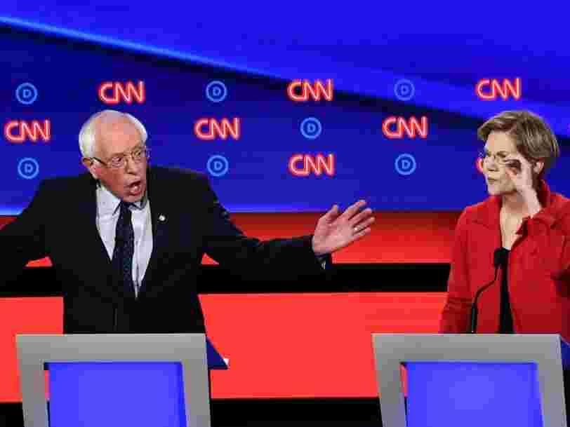 Primaire démocrate : Bernie Sanders, Marianne Williamson... Les gagnants et les perdants du débat