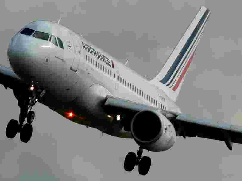 Air France-KLM décolle en Bourse après la levée du préavis de grève