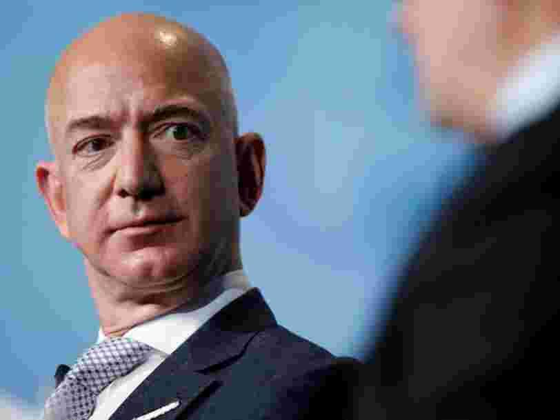Voici pourquoi Jeff Bezos a vendu pour 1,8 Md$ d'actions Amazon