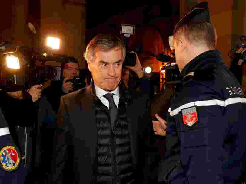 L'ex-ministre du budget Jérôme Cahuzac est condamné à 3 ans de prison ferme pour fraude fiscale