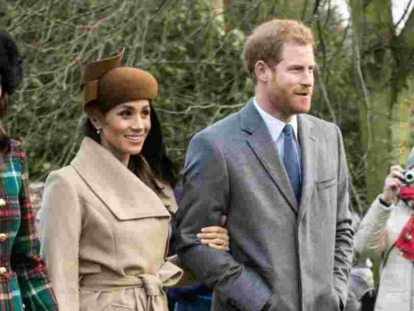 Ce vol de la British Airways aura un équipage uniquement composé de personnes qui s'appellent Meghan ou Harry le jour du mariage royal — et elles serviront du champagne et des gâteaux anglais