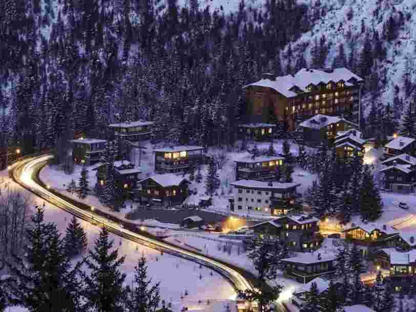 Voici les 9 stations de ski françaises où l'immobilier haut de gamme est le plus cher
