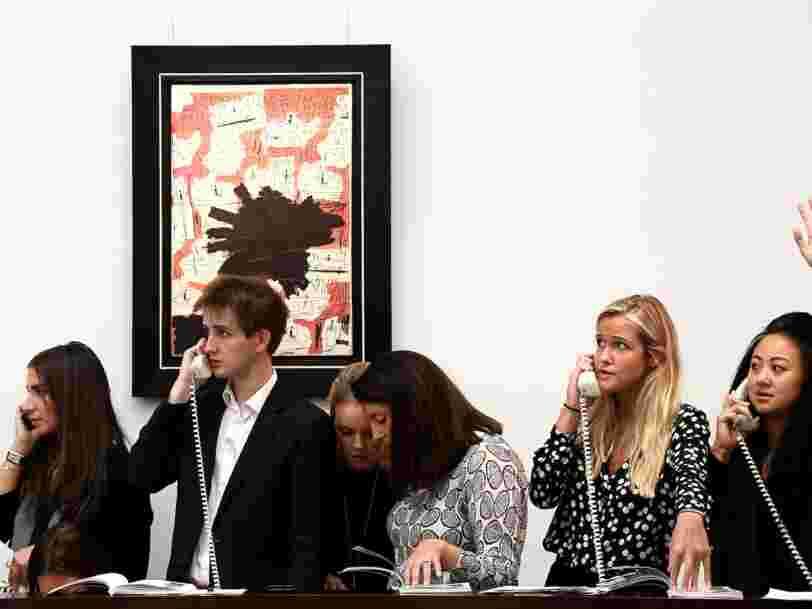 Patrick Drahi s'offre Sotheby's, la maison de vente aux enchères, pour 3,3 Mds€