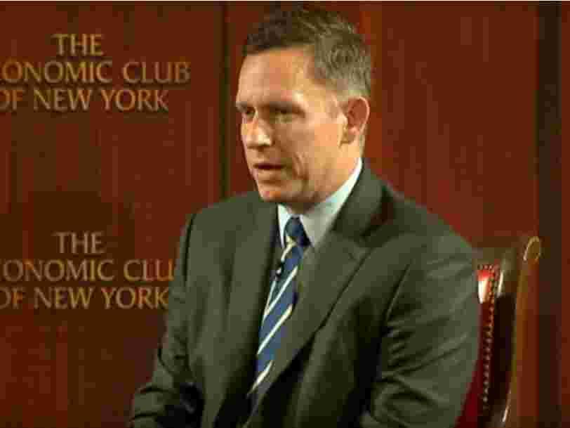 Peter Thiel pense que le bitcoin sera la crypto-monnaie qui dominera toutes les autres