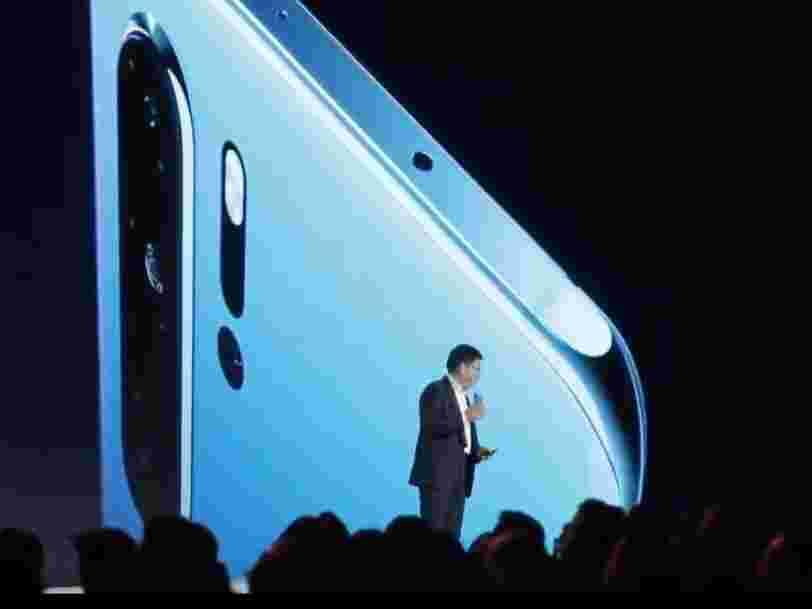 Huawei dévoile à Paris ses P30 et P30 Pro, 2 nouveaux smartphones haut de gamme à moins de 1000 €