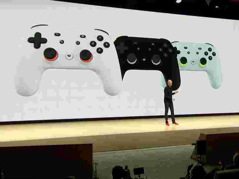 Stadia, la plateforme de jeux vidéo Google, arrive en France en novembre... et les 6 choses à savoir dans la tech ce matin