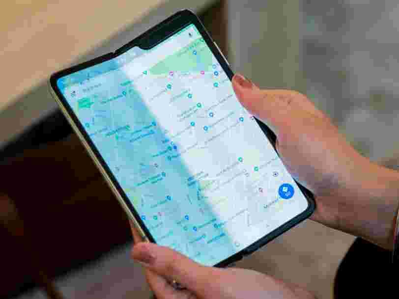 Nos première impressions sur le Galaxy Fold, le smartphone pliable de Samsung à plus de 2000€