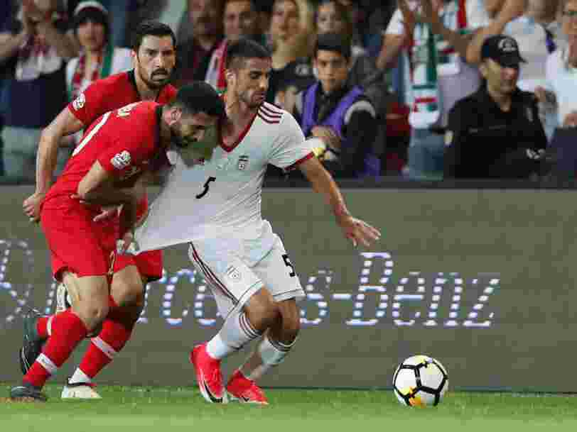 Nike se plie à la colère de Donald Trump envers l'Iran et complique un peu plus la participation à la Coupe du monde de cette sélection