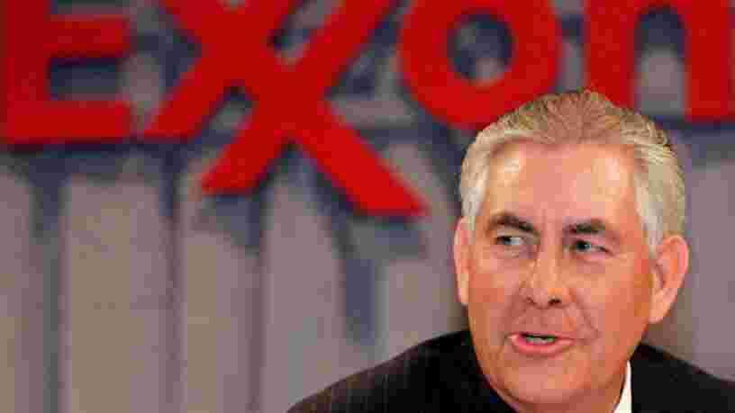 Donald Trump confie la diplomatie américaine au patron d'Exxon Mobil Rex Tillerson