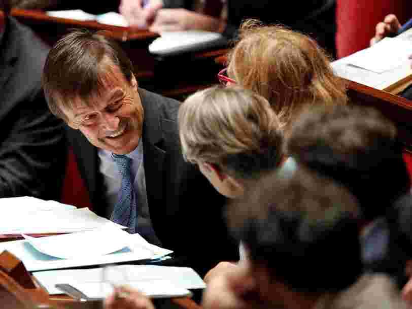 L'action EDF s'enflamme en Bourse après des déclarations de Nicolas Hulot