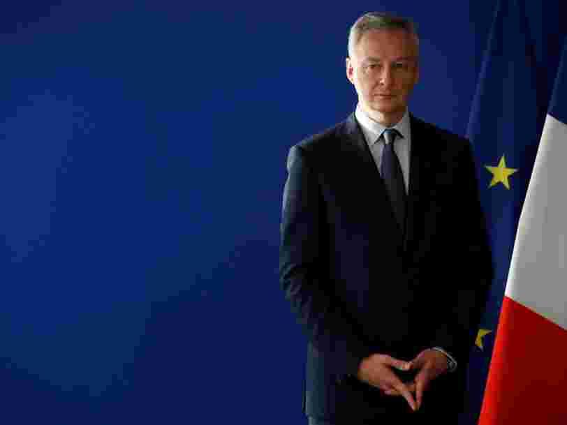Bruno Le Maire dit que la France est prête à mettre en place toute seule une taxe sur les GAFA s'il n'y a pas d'accord en Europe
