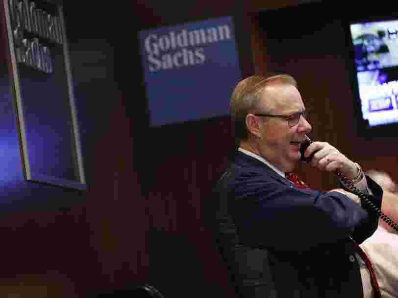Goldman Sachs pulvérise le consensus au T3