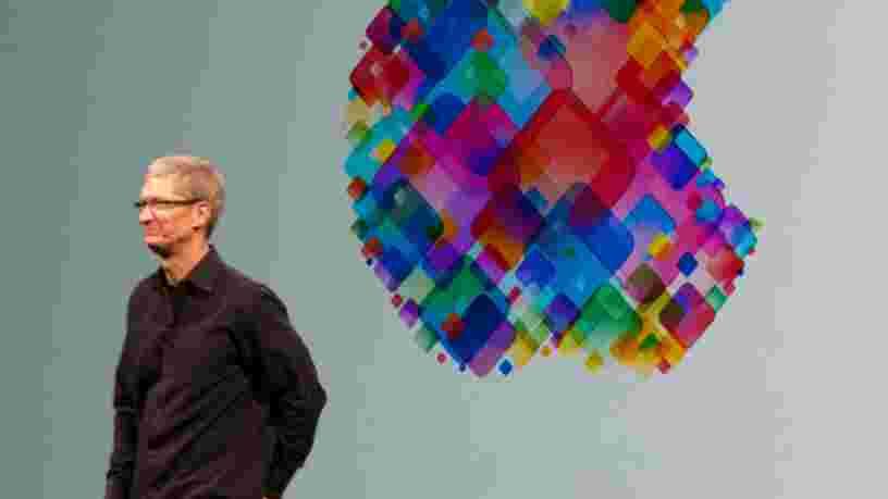 Le patron d'Apple était visiblement agacé quand un analyste lui a demandé s'il avait une stratégie
