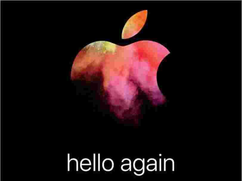Apple vient d'annoncer un événement qui rappelle un moment historique sous Steve Jobs