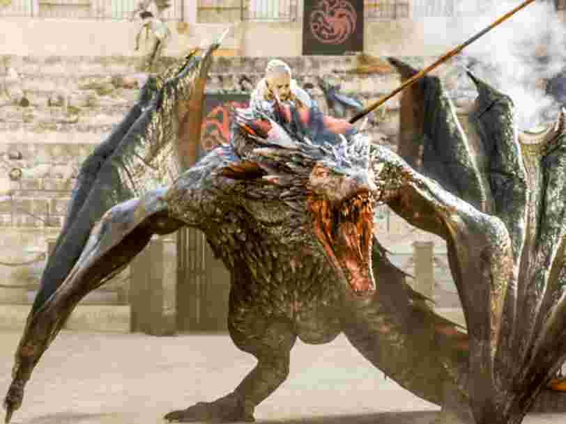 Savez-vous à quoi ressemblent les dragons de 'Game of Thrones' dans la vraie vie ? Emilia Clarke a partagé une photo du plateau
