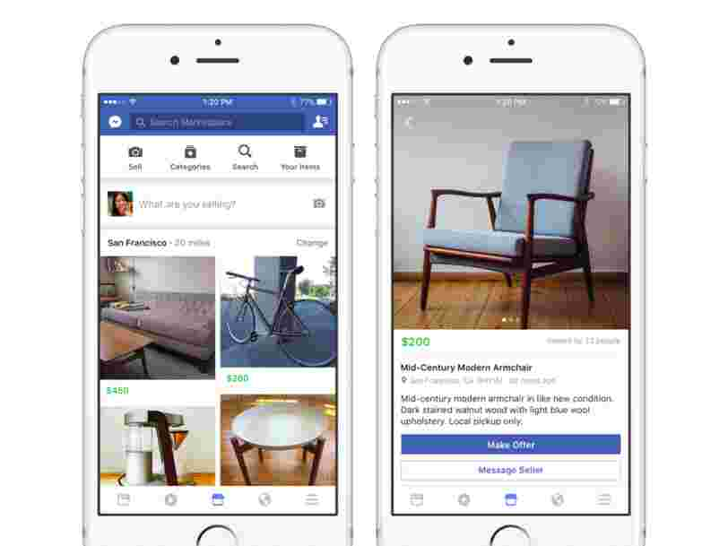 Voici les choses importantes à savoir sur Marketplace, le concurrent d'eBay lancé par Facebook