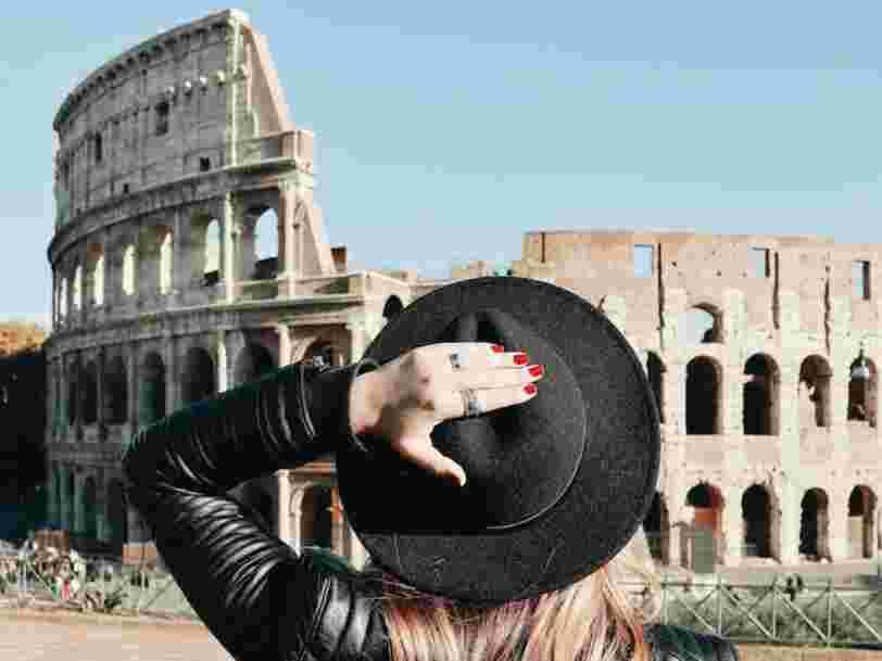 Une agence touristique romaine propose un 'Instagram Boyfriend Tour' à 600€